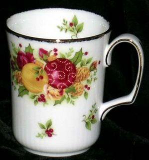 Royal Albert Doulton Mug Old Country Roses Holiday Coffee Tea Bone