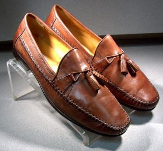 Johnston Murphy Mens Shoes Latimer Tassel Loafers 15 0960 Size 10 W