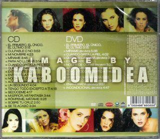 DVD Edith Marquez Las Mejores Baladas Del Pop New EX Timbiriche