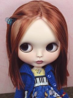 Layla OOAK Custom Blythe Art Doll Repaint New by Ellen Harris