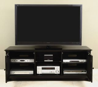 LCD Television Stand AV Console Cabinet for Up to 65 Plasma LCD LED TV