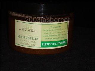 Bath Body Works Aromatherapy Eucalyptus Spearmint Stress Relief Sugar