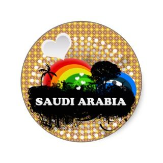 Cute Fruity Saudi Arabia Sticker
