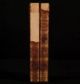 1828 2 Vol Memoires Apothicaire Blaze Spanish Civil War
