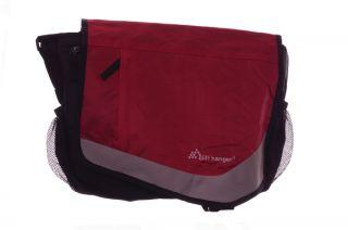 Red Merlot Laptop Computer Case Holder Messenger Bag Carrying Case NEW