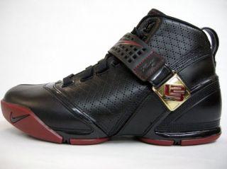 Nike Zoom Lebron 5 V Black Varsity Crimson Birthday Edition