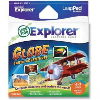 LeapFrog Explorer Learning Game Globe Earth Adventures New