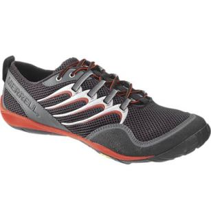 Mens Merrell Trail Glove Barefoot Shoes Black Lava Size