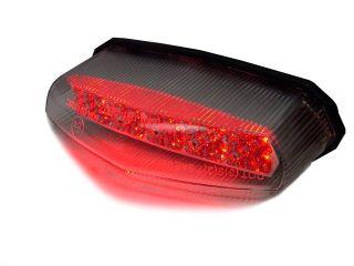 Crystal LED Tail Stop Brake Light Motorcycle for Honda MX Dual Sport