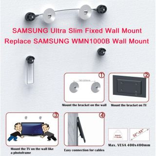 Samsung Ultra Slim LED Wall Mount UN55C8000 UN55B8500