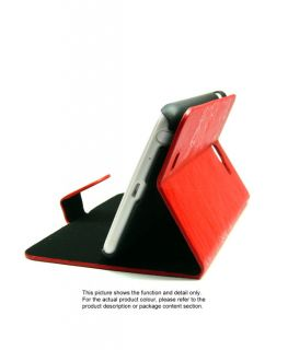 Grey Leather Tri Fold Stand Flip Cover Case for Samsung Galaxy Note