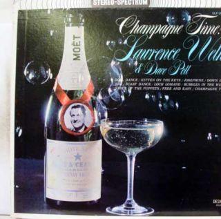 Lawrence Welk Dave Pell Champagne Time LP VG SDLP 200 Vinyl Record