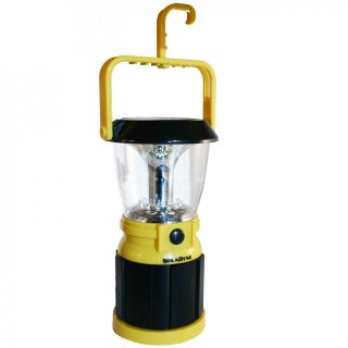 SolaDyne Table Top LED Lantern Solar Powered or Hand Crank