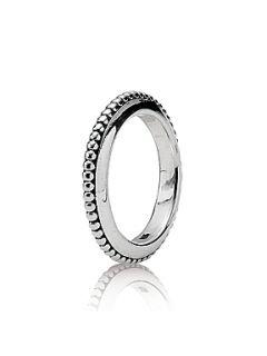Pandora Sterling Silver Circles Ring Silver