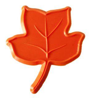 Poplar Leaf Decorative Concrete Border Accent Art Stamp Tool Mat 9LV04