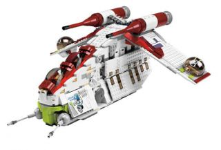 Lego Star Wars Republic Attack Gunship 7676 SHIP Only No Minifigures