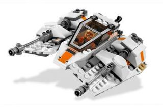 Lego 8089 Star Wars Hoth Wampa Cave Minifigs Luke Zev