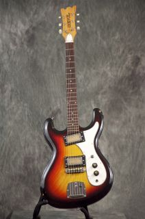 Vintage Univox High Flyer Mosrite Cobain Guitar GRLC488