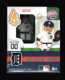 Detroit Tigers OYO Lego Minifigure Minifig Baseball OYO0136