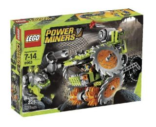 Features of LEGO Power Miners Rock Wrecker (8963)