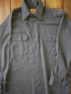 Lot of 2 Red Camel Lee Union Work Shirts L
