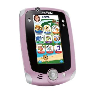 Leap Frog LeapPad 2 Pink Purple Pad Tablet Brand New Very Fast