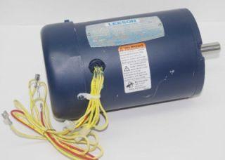 Leeson Electric Motor C42S34FC2B 08HP 115V 3450 RPM IPH 60Hz TEFC Encl