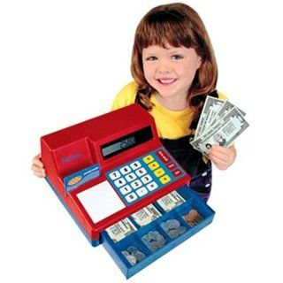 Learning Resources Pretend and Play Cash Register Kids Toy Complete w