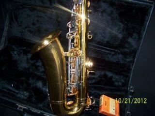 Vito Alto Sax Saxophone Made by Yamaha in Japan 185503 with LeBlanc