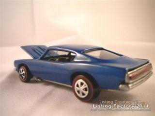 1967 Hot Wheels Redline Custom Barracuda
