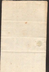 100229   OLD GERMAN DOCUMENT   1803   seal + tax stamp
