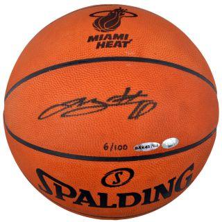 Signed Lebron James Limited Edition Logo Basketball 6 100 Upper Deck