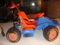 Fisher Price Power Wheels Get Set Go Cart Near Mint