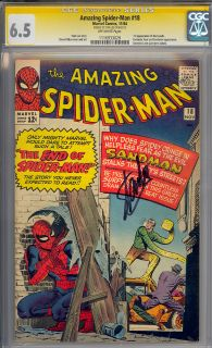 Amazing Spider Man 18 CGC 6 5 Stan Lee Signature Series CGC 1116933029