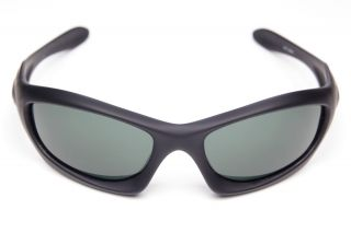 Stealth Black Replacement Lenses for Oakley Monster Dog