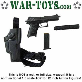 Leo Delta Force Pistol w Accessories 1 6 Scale Dragon Action Figures