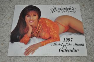 Sexy RARE 1997 Fredericks of Hollywood 12 Month Calendar Brooke Burke