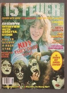 1978 15 Fever Mag Kiss Leif Garrett Bay City Rollers Frampton