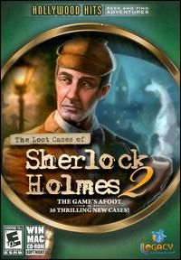 The Lost Cases of Sherlock Holmes 2 II Hidden Object Mystery Puzzle PC