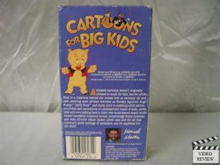 Cartoons for Big Kids VHS Leonard Maltin 053939603132