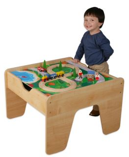 New Lego Bricks Table Top Blocks Pretend Play Train Set Activity Toy