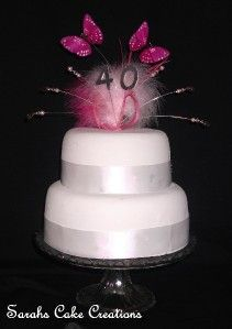 Butterfly Birthday Anniversary Cake Topper Decoration