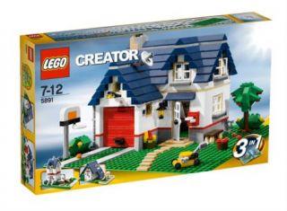 Lego 5891 Creator Apple Tree House