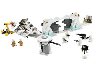 Lego Star Wars 7666 Hoth Rebel Base w K 3PO New SEALED