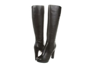 Michael Kors Womens Lesly Boot in Black Leather