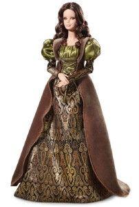 2011 Barbie Inspired by Leonardo Da Vinci Mona Lisa Artist Collector