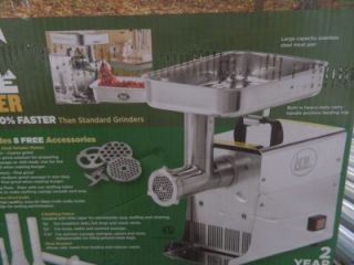 Lem Products 35 HP Stainless Steel Electric Meat Grinder TN