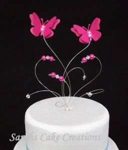 Superb Butterfly Cake Topper Wedding Birthday Anniversary Decoration