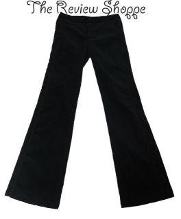 Nanette Lepore Navy Velvet Felt Dress Pant Wide Leg NWT Org. $280 Size