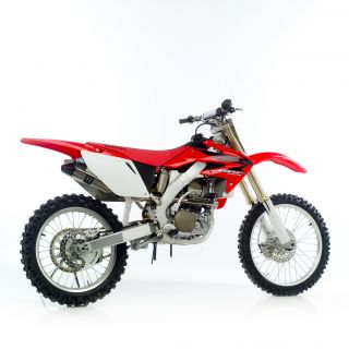 Leo Vince x3 Motocross Dual Titanium Full Exhaust System Honda CRF250